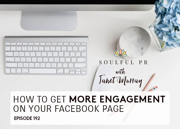 10 ways to get more engagement on your Facebook page https://t.co/KDzyFgfTXi #soulfulpr