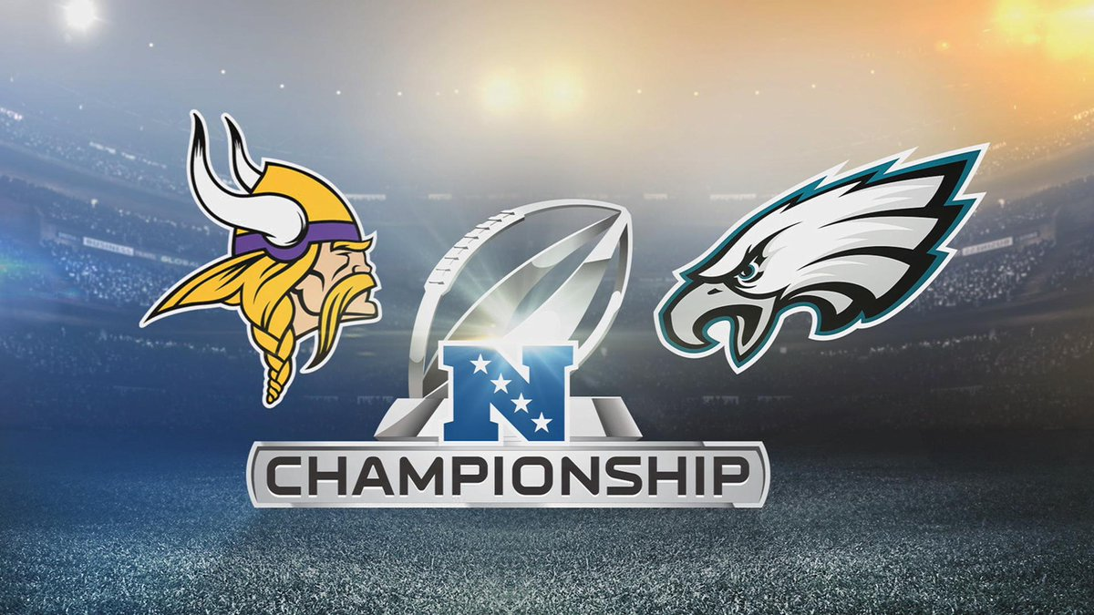 WATCH NOW: Check out our preview of the @Eagles @Vikings NFC Championship Game: https://t.co/9Maxw4oM59