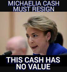 RT @Loud_Lass: #CashOut #auspol Cash must go https://t.co/rqBFZiIveL