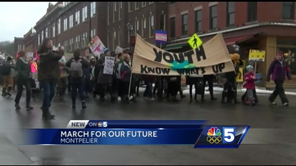 Young people raise their voices in March for Our Future https://t.co/GZGO5DCrLA