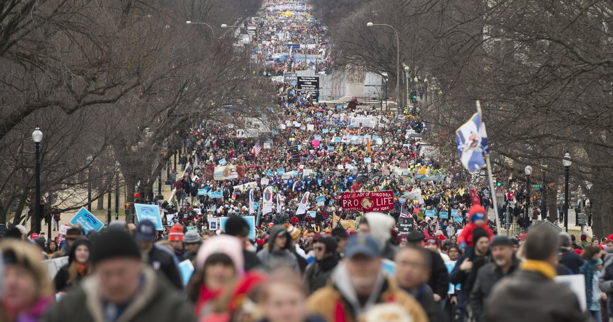 Trump, Paul Ryan will speak at Friday's March for Life anti-abortion rally in D.C. https://t.co/LV8aEWkWZs