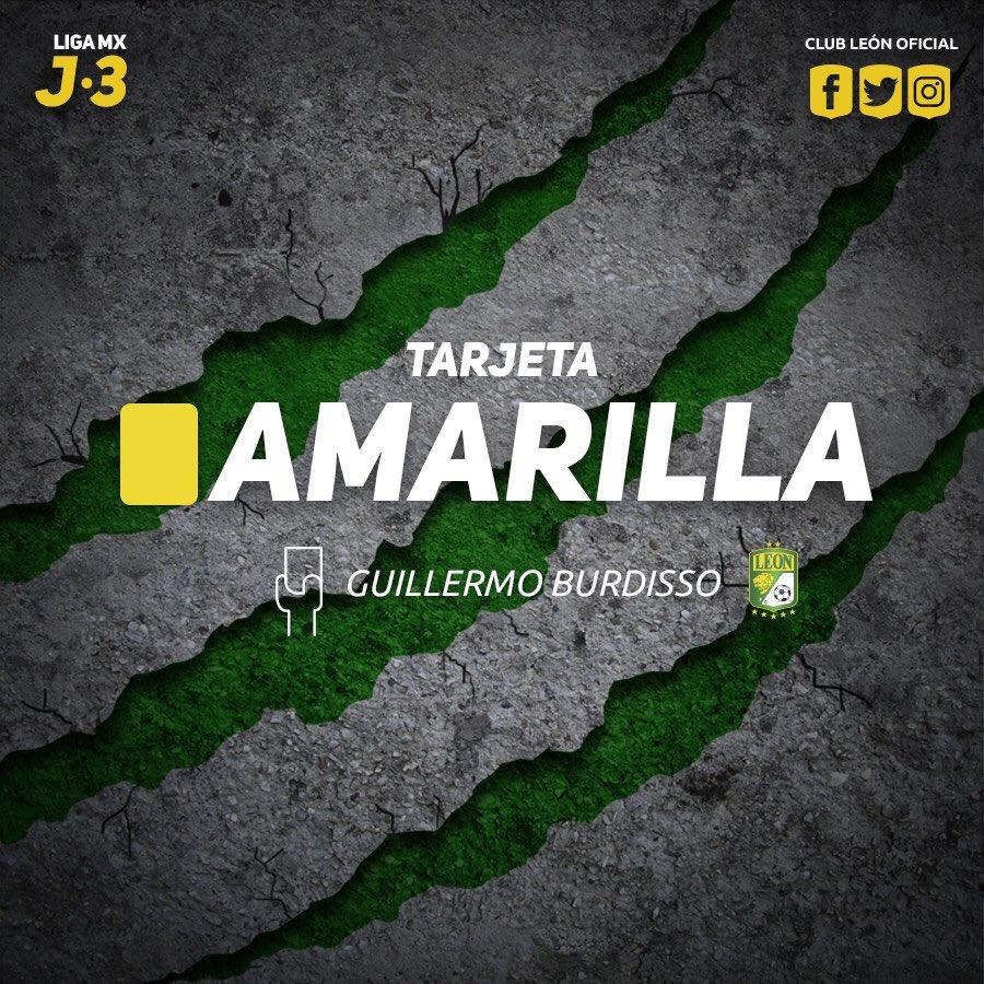 #J3 | #LigaMx | #CAZvsLEO   ⏱91' amonest...