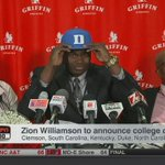RT @SBNation: 🚨🚨🚨🚨 ZION WILLIAMSON IS GOING TO DUK...