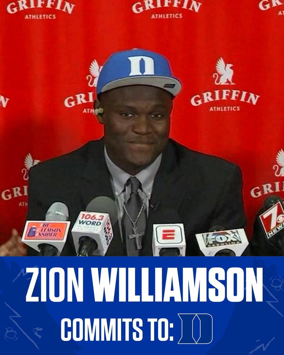RT @espn: The newest member of Duke basketball... https://t.co/8qbYURmR8l