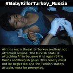 #BabyKillerTurkey_Russia https://t.co/vZTQMAcPqh
