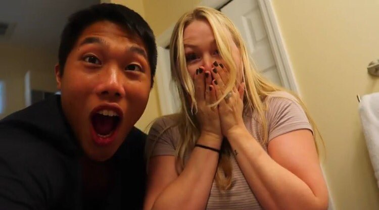 CONGRATULATIONS KEREN AND KHOA! THE VIDEO WAS AMAZING😂💗! @kerenswan @khoa_nguyen https://t.co/LgOLdkNgpL