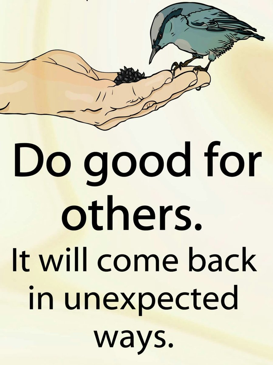 Inspirational Quotes On Twitter Do Good For Others It Will Come