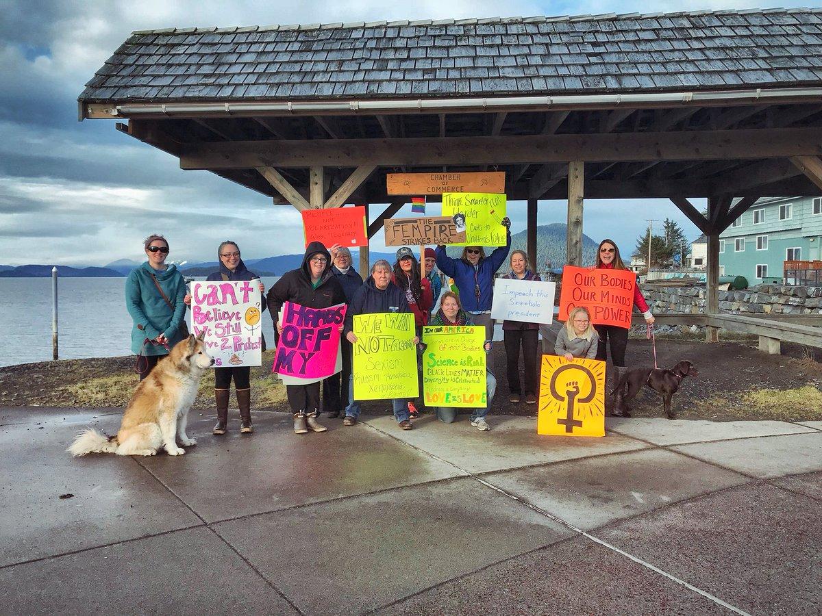 Vivianfaith Prescott On Twitter Alaskans Women S March 2018 Small Island Of Wrangell Alaska Nytimes Npr Took Us 5 Min To Through Town