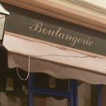 ポプテピピック3話からフランス旅行に役立つ知識をフランスでは「boulangerie(パン屋)」を名…