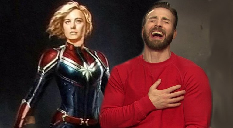 RT @ComicBookNOW: CAPTAIN MARVEL's Brie Larson Does Her Impression Of Chris Evans Laugh https://t.co/NuEvdqmnj4 https://t.co/Y07Az3n5Wr
