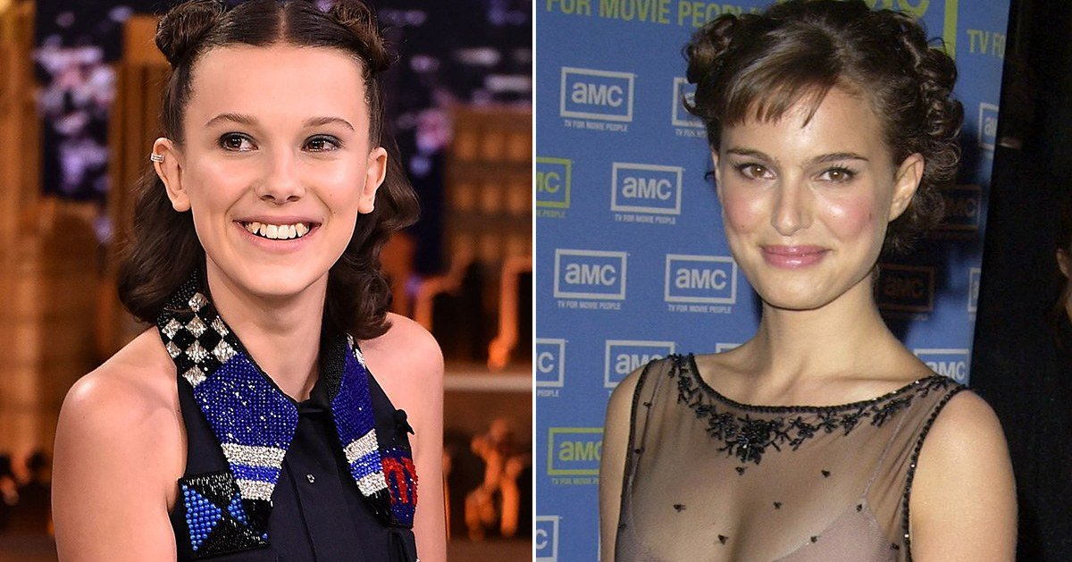 The Internet Thinks Millie Bobby Brown Looks Exactly Like a Young Natalie Portman https://t.co/57VBMyvMDb https://t.co/kOKbZ4iOVT