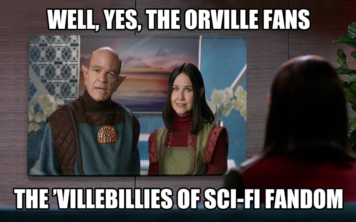 Alara's parents love fans of #TheOrville...