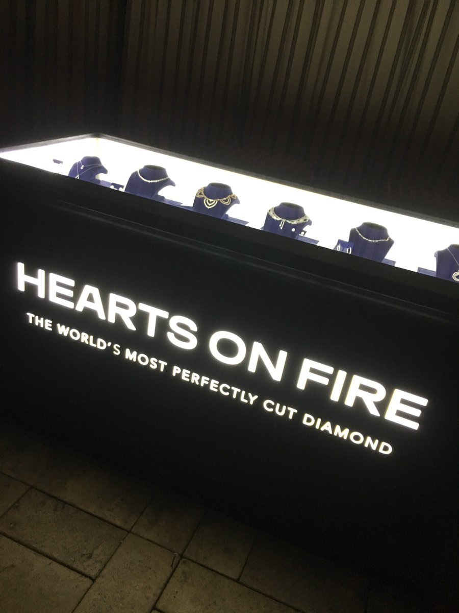 .@heartsonfire is bringing the bling to...