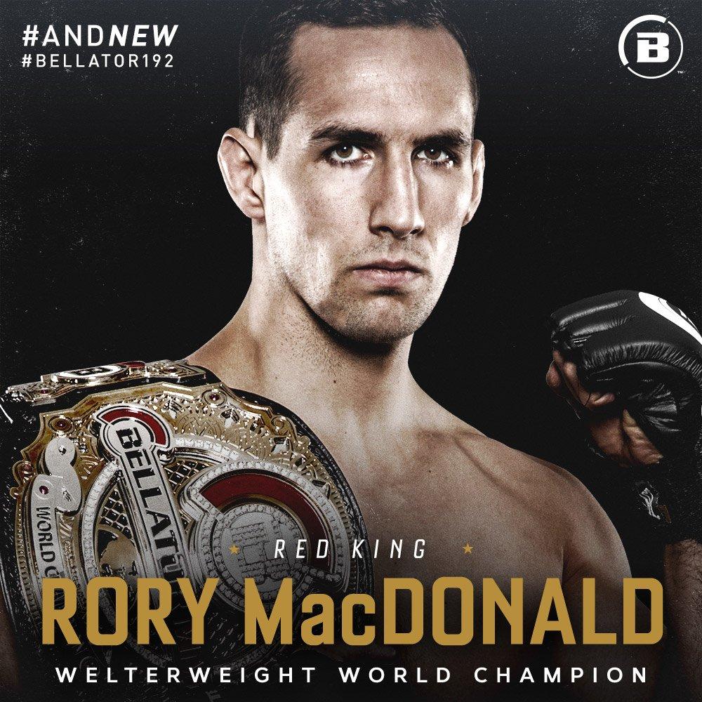#AndNew - @rory_macdonald #Bellator192 h...