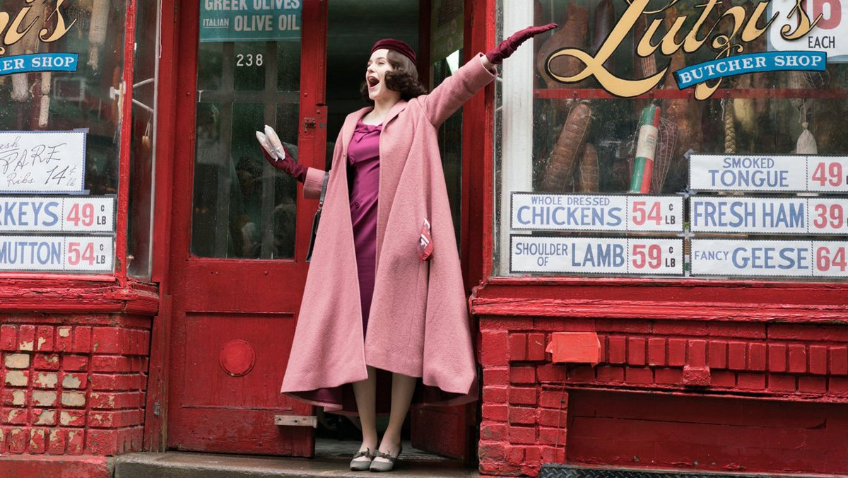 #PGAAwards: 'The Marvelous Mrs. Maisel'...