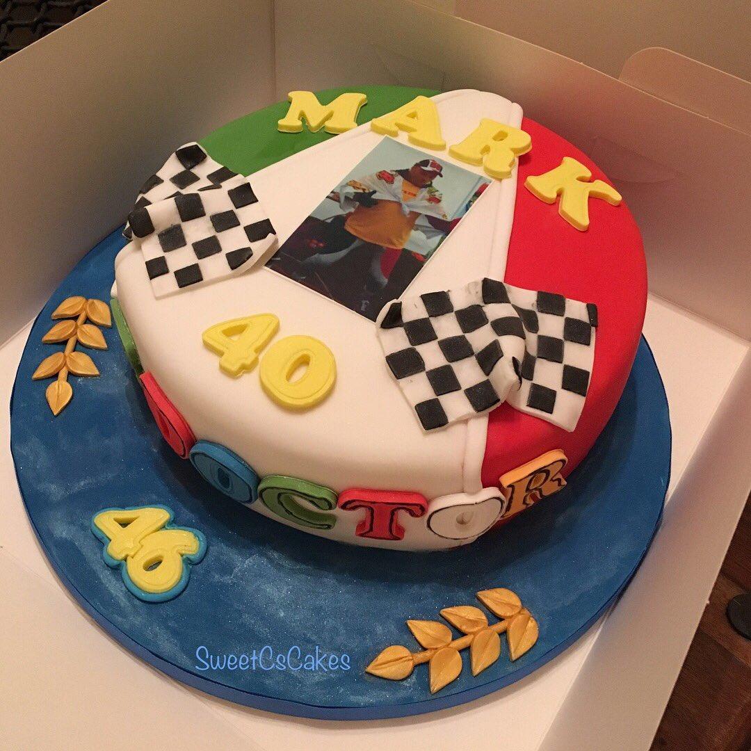 Caroline Walker On Twitter Moto Gp Themed 40th Birthday Cake Xx