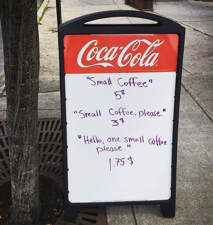 manners matters... just be kind, it pays off!