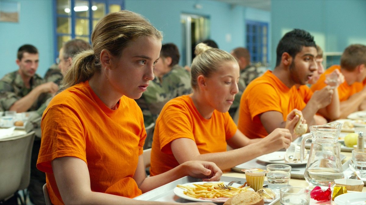 Les Combattants/Love at First Fight is in the late slot tonight at 1.55am. The brilliant debut of French director Thomas Cailley, a rough-and-tumble romance between a shy boy and a girl who yearns to join the army. One to record.