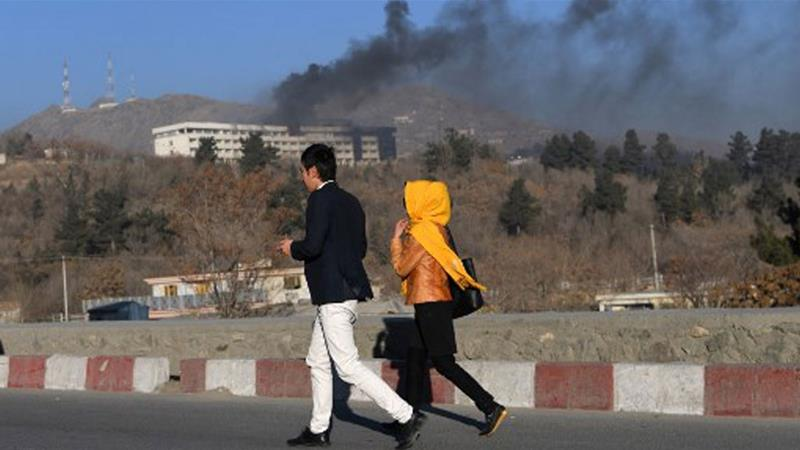 Taliban claims responsibility for attack on Kabul's Intercontinental Hotel https://t.co/BeB10N2TNK