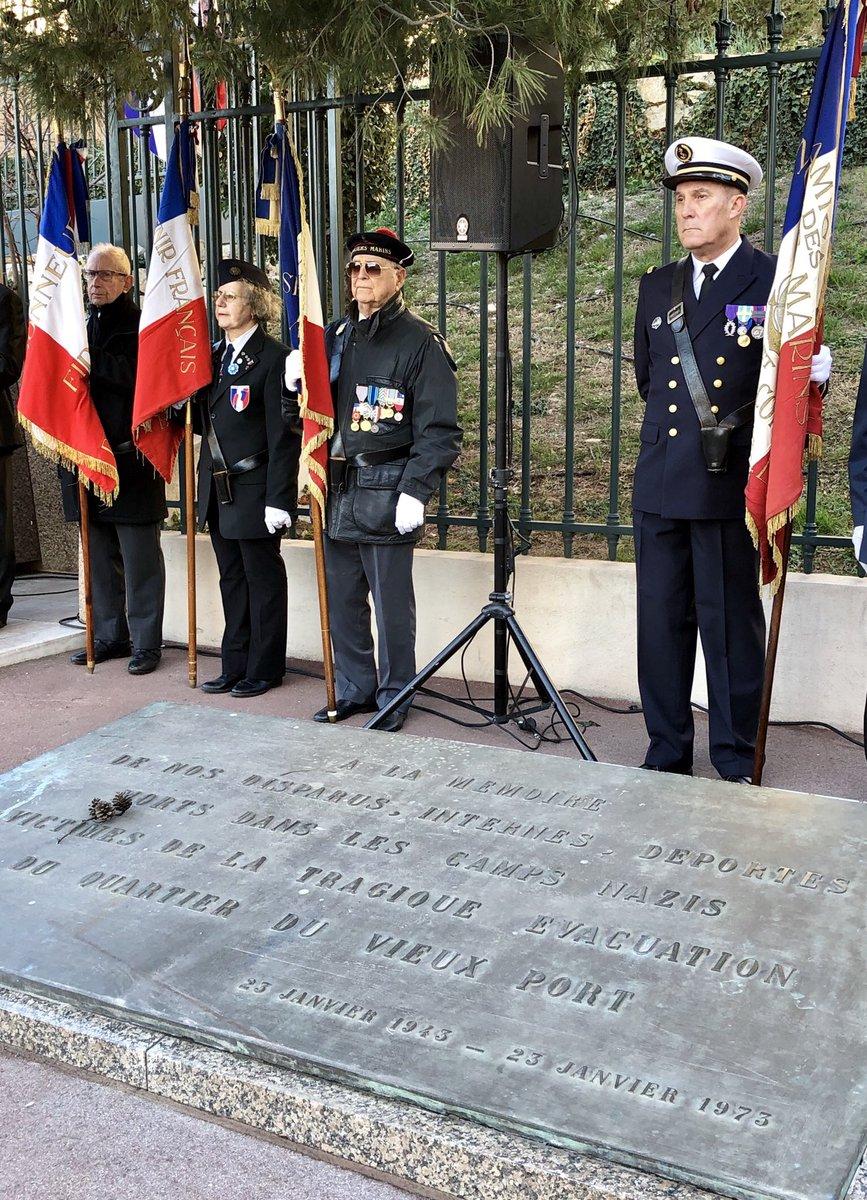 Ce dimanche 21 janvier, une cérémonie du Souvenir est organisée à l'occasion du 75e anniversaire de l'évacuation et de la déportation des populations des quartiers du Vieux-Port et de l'Opéra. N'oublions jamais !