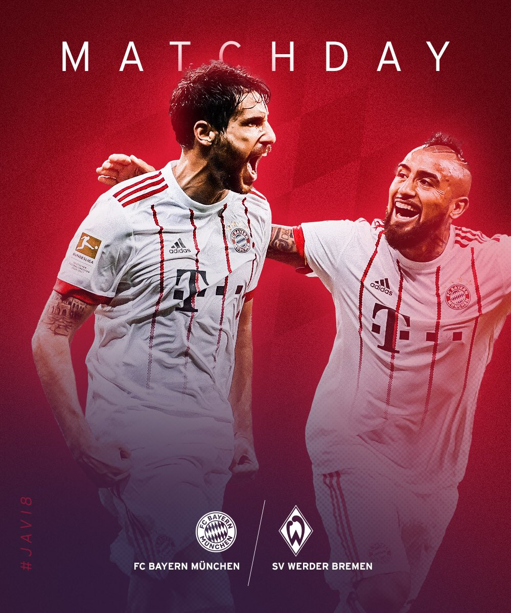 #matchday 💥⚽️🔥 #FCBSVW #packmas #fcbayer...