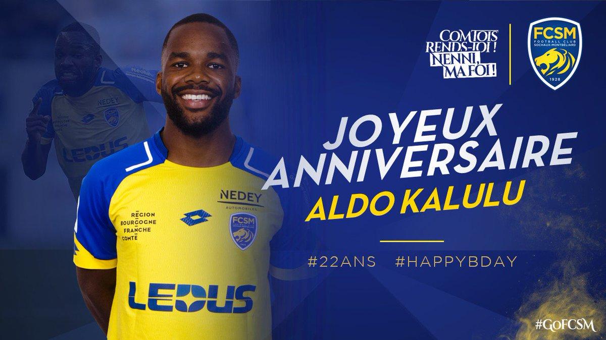 🎉🎂 On souhaite tous un joyeux anniversaire à @KaluluAldo qui fête aujourd'hui ses 2⃣2⃣ ans ! #HappyBday #GoFCSM