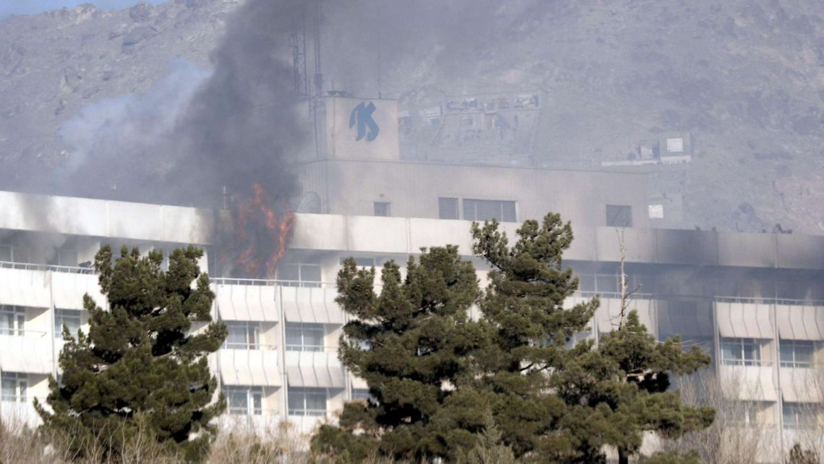 Kabul, attacco all'Hotel Intercontinetal rivendicato dai talebani  #talebani https://t.co/N7V0tnKebj