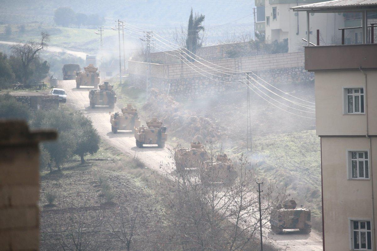 Offensive de la Turquie contre une enclave kurde : le Premier ministre turc veut créer une 'zone de sécurité' à la frontière avec la Syrie https://t.co/DSyAjlcpBT