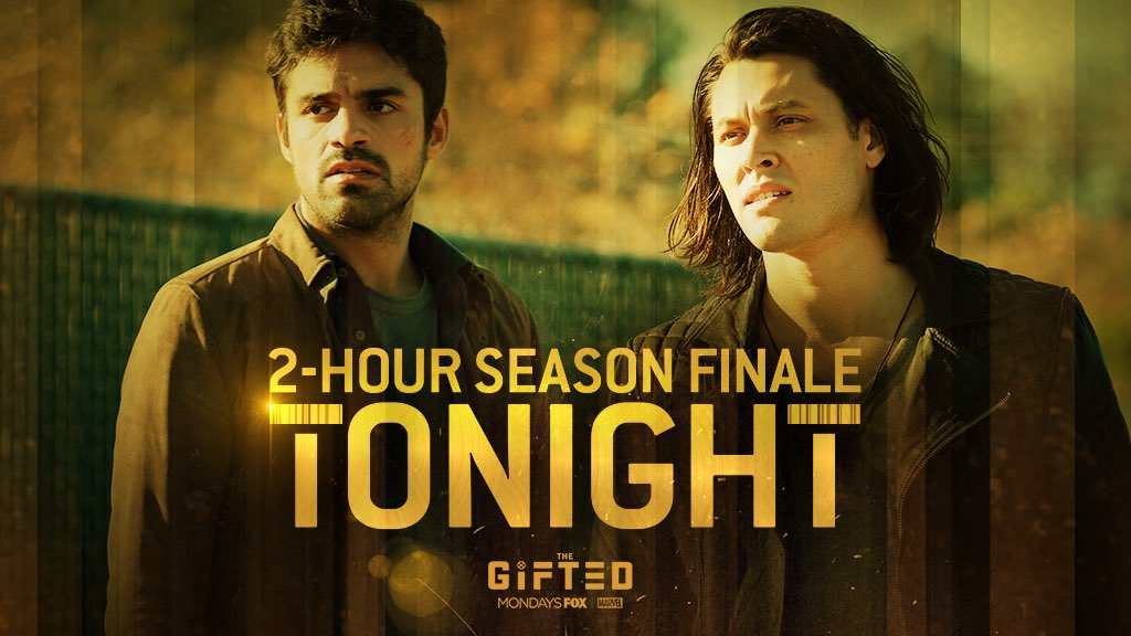 Don't miss the exhilarating two hour season finale of @TheGiftedonFOX starring @seanjteale tonight at 9pm on @FOXtvUK and @NOWTV #thegiftedfinale #mutantsunite