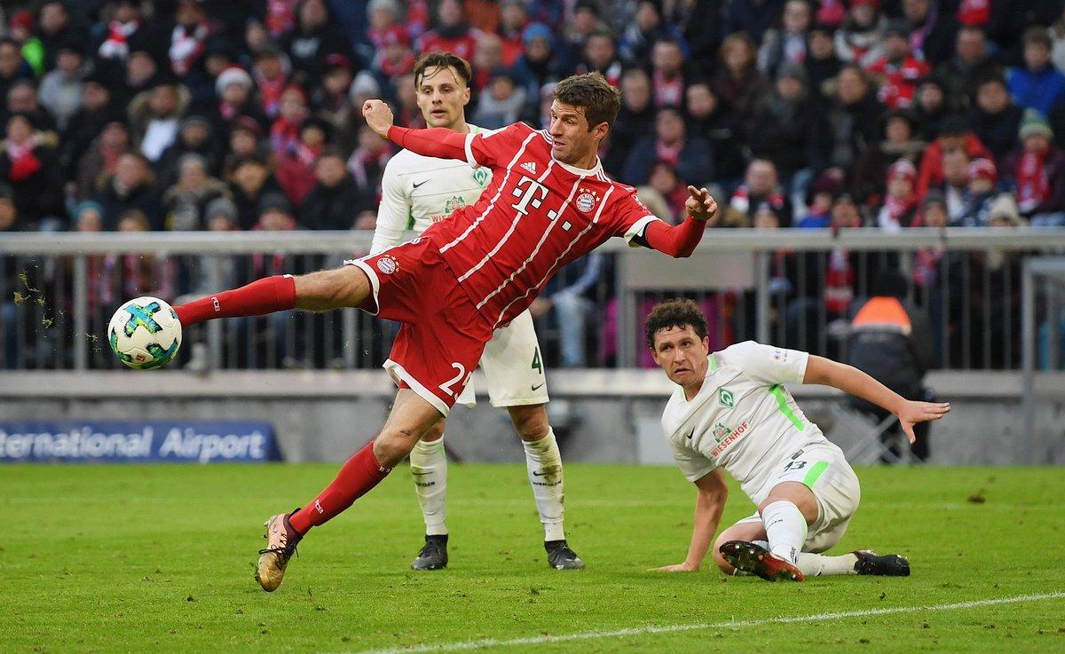 ¡Segunda parte! 1-1 📢 ¡Vaaaaaaamos Bayern! 💪⚽ #FCBSVW https://t.co/MwHFTDjjfR