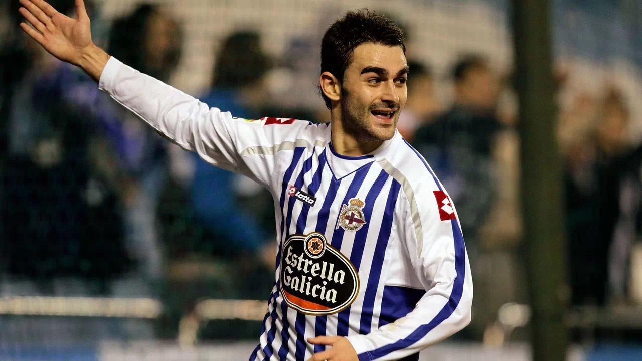 أدريان لوبيز يباغت ريال مدريد ويسجل الهدف الأول بتسديدة فى المرمى الخالي