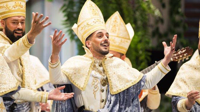 Acordes del pasdodoble de OBDC, El joven obispo, comparsa de Germán Rendón https://t.co/MX5YW6kGdF #COAC2018P13 https://t.co/pas5O557FD