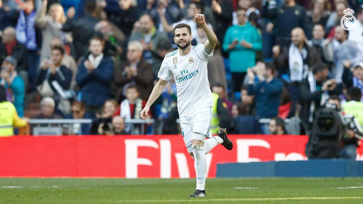 ناتشو يسجل هدف رائع ويتعادل لريال مدريد في شباك ديبورتيفو