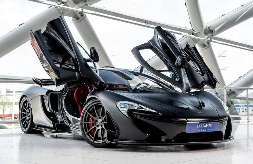 Matte Black McLaren P1   Full luxury and...