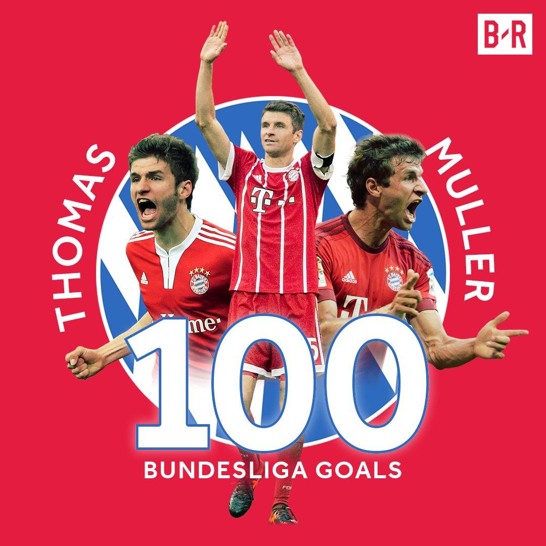 💯 up for Thomas Muller in the Bundesliga...