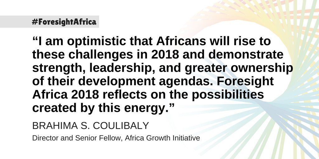 The idea that a more unified Africa can create never-before-seen opportunities for trade and economic prosperity is gaining traction. Learn why: https://t.co/tERQq2HclF #ForesightAfrica