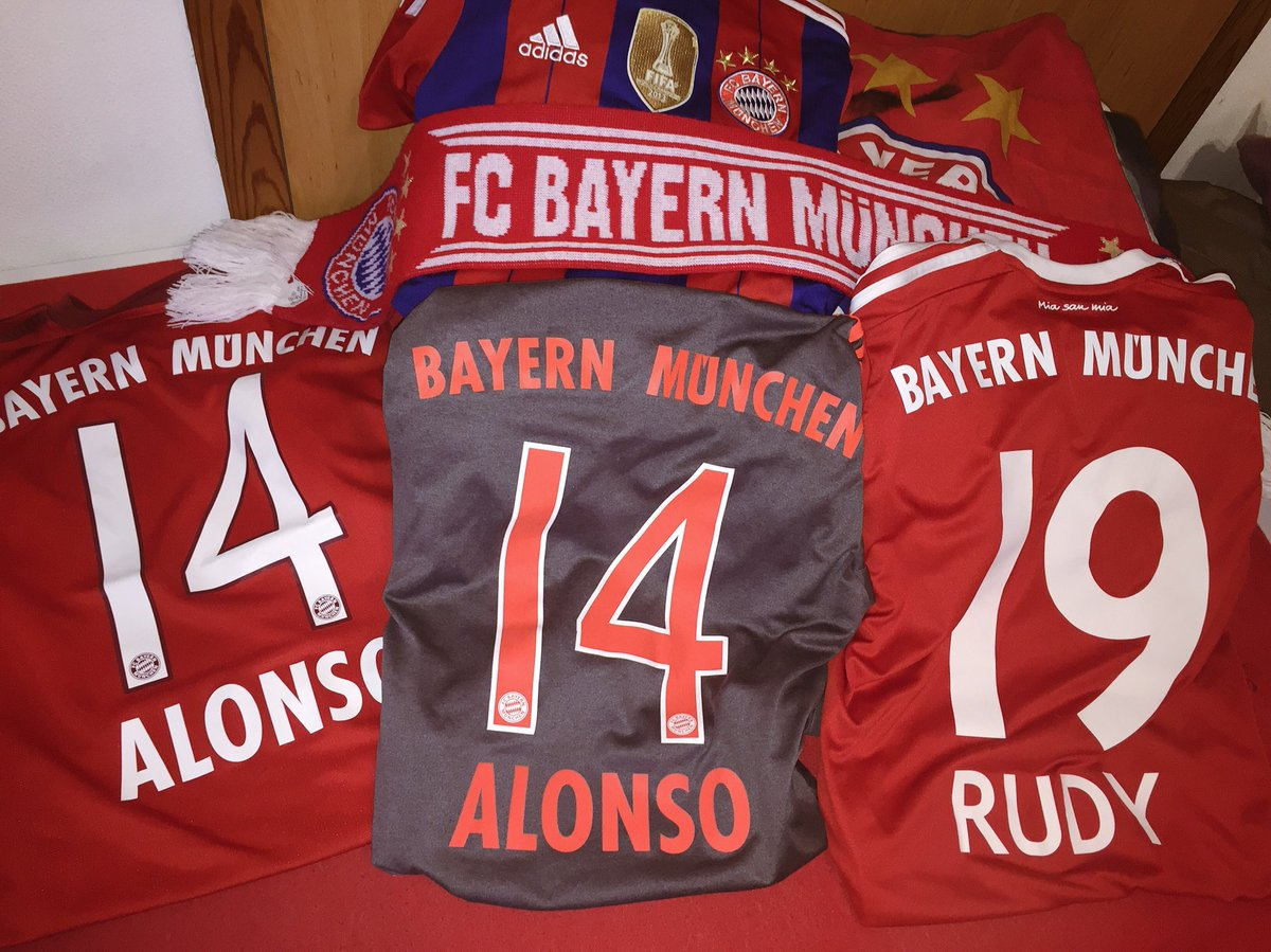 Today from 🏡 Supporten @FCBayern #miasan...