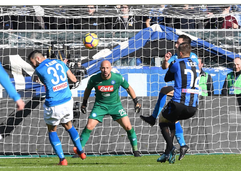 Atalanta vs Napoli 0-1 Highlights
