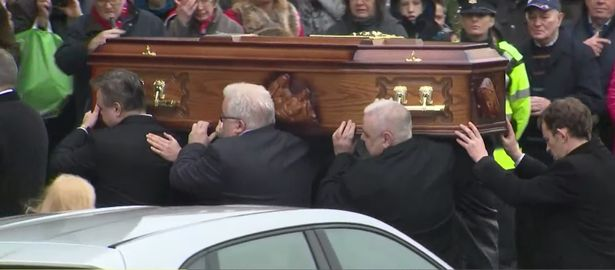 Mourners gather to say goodbye to Cranbe...