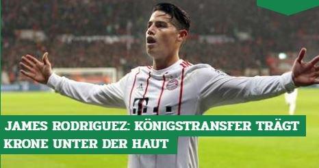 Vor #FCBSVW: James #Rodriguez - der Star...