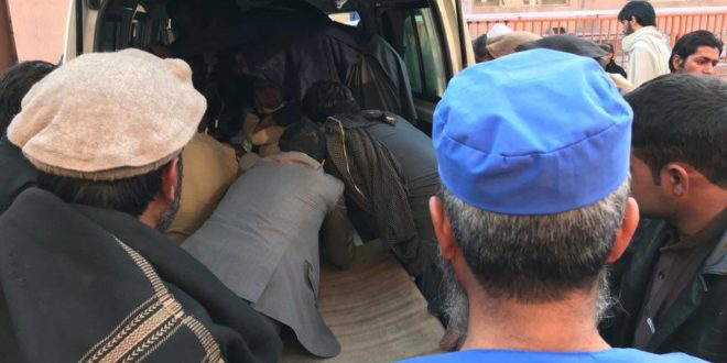 TV journalists wounded, their driver killed in eastern Nangarhar province