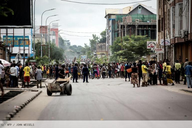 Marches interdites en RDC: au moins cinq morts et 33 blessés https://t.co/EZBdj0WYf2