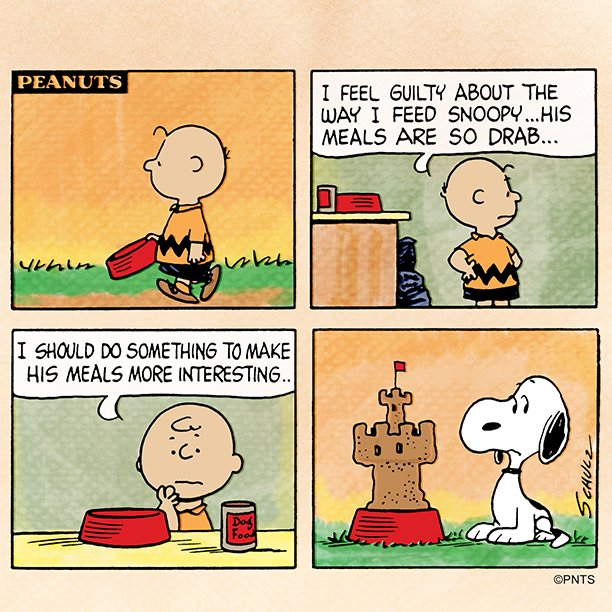 RT @Snoopy: Spicing things up. https://t.co/W0vciZAoGx