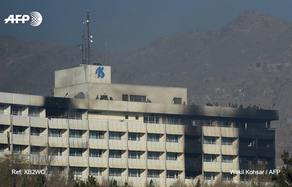 Attaque de l'hôtel #Intercontinental de Kaboul : 18 morts dont 14 étrangers #AFP