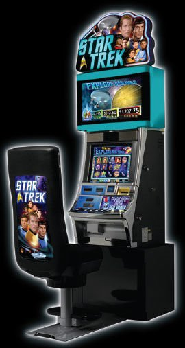 star trek slot