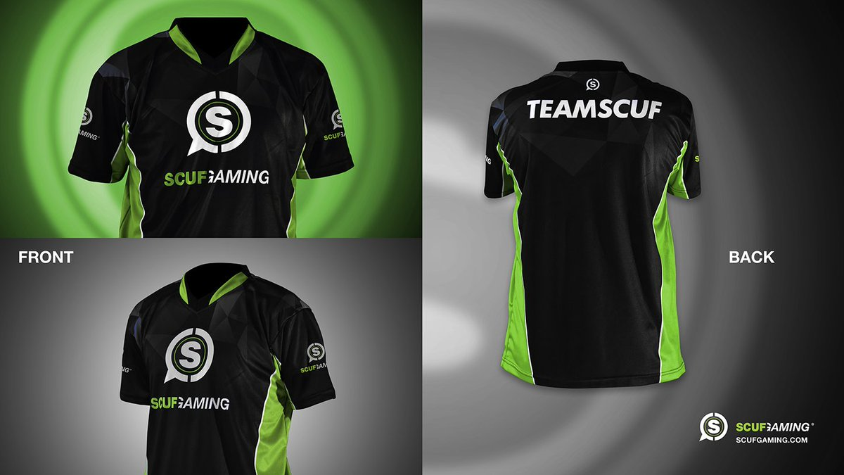 Suit up and show out with the #TeamSCUF...