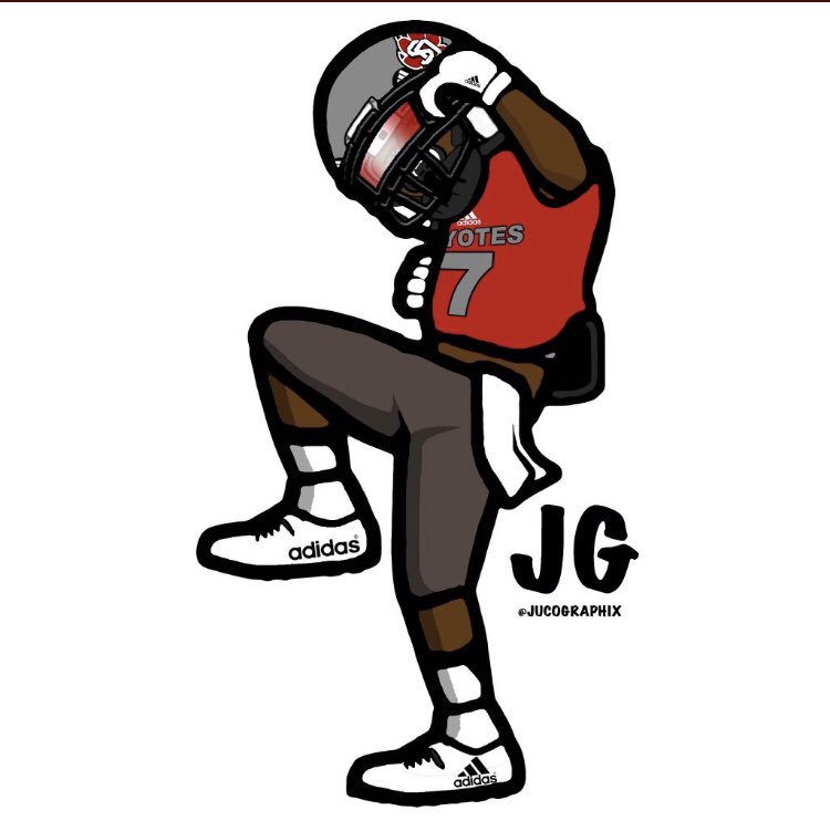 """jakari starling on twitter """"committed 💯goyotes 🐾"""