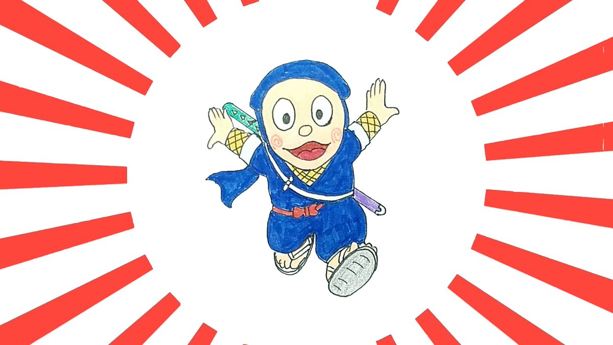 How To Draw Stuff On Twitter How To Draw Ninja Hattori Kun Https