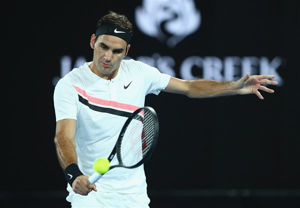 For the first time at this #AusOpen, @rogerfederer has a day match on his hands.   Standing in his way of the QFs is former training partner Marton Fucsovics.  Preview >>> https://t.co/Rdne6NBAWS