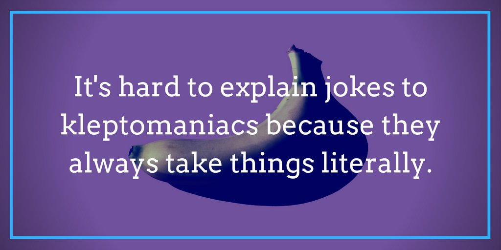 Today is #NationalOneLinersDay! What's your favorite one-liner?  [Learn more with these humor writing basics: https://t.co/AdUcYj8eUX]
